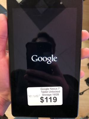 Google Nexus 7 Tablet for Sale in Arlington, VA