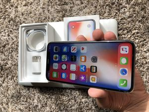 iPhone X 64GB Sprint Paid off for Sale in Kent, WA