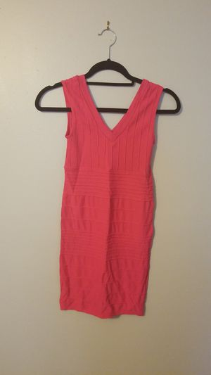 Womens Colorful hot pink stretch dress Small for Sale in Tampa, FL