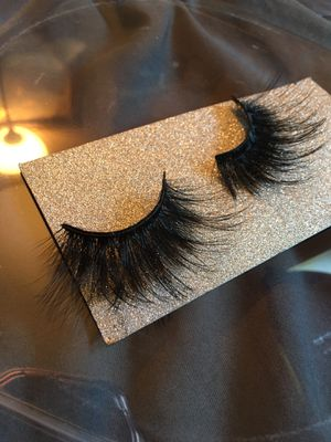 25mm mink eyelashes for Sale in Columbus, OH