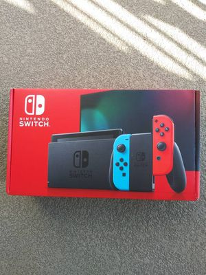 Nintendo switch video game system version 2 new for Sale in Alpine, TX