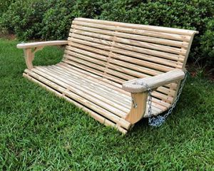 4' & 5' Handcrafted Porch Swings (Built & Ready to Hang) for Sale in Monroe, GA