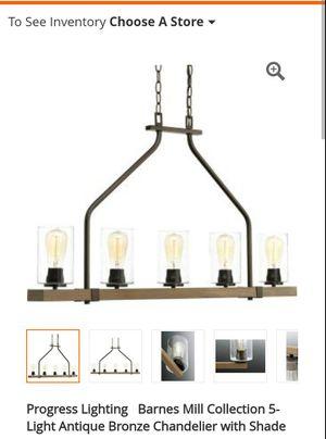 Cool progress chandeliers for Sale in Cuba, MO