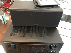 Marantz SR7300 AV surround receiver & 245i Polk audio speaker for Sale in Middletown, CT