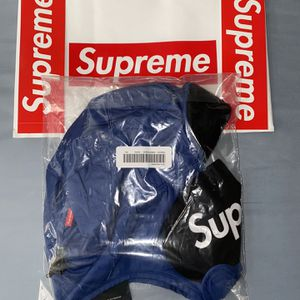 Supreme Tech Trooper Hooded Face Mask Royal for Sale in Raleigh, NC