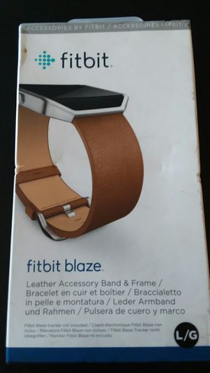 Fitbit Blaze Leather Accessory Band & Frame for Sale in Pasco, WA