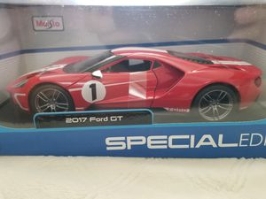Maisto 1/18 diecast Ford GT racing stripe, rare brand new, toy car/collectible for Sale in La Costa, CA