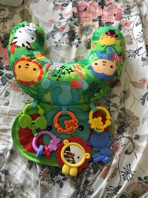 Fisher price tummy time pillow with toys for Sale in Jersey City, NJ
