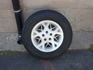 16 inch jeep rim and tire, 5 on 4.5, great spare. Ford, Toyota, Dodge for Sale in Montebello, CA