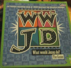 WWJD WHAT WOULD JESUS DO? BOARD GAME for Sale in Austin, TX