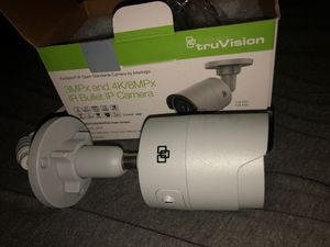 Truvision 3mpx and 4k/8mpx IR bullet IP camera for Sale in Seattle, WA