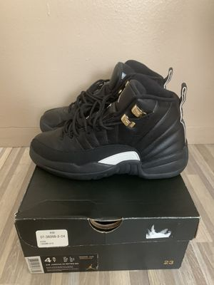 "Retro Jordan 12 ""The Master"" size 4.5 for Sale in Queens, NY"
