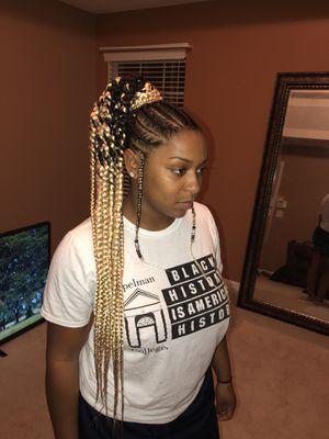 Long Box Braid Wig For Sale In Atlanta Ga Offerup