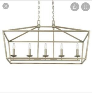 Silver caged chandelier for Sale in Riverside, CA
