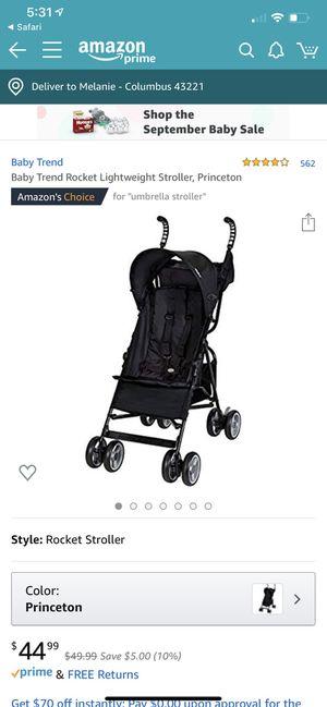 Babytrend lightweight stroller for Sale in Columbus, OH
