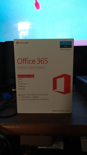 Office 365 when your subscription never used for Sale in San Jose, CA