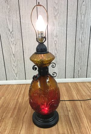 Antique lamp with two lights - missing shade for Sale in Independence, OH