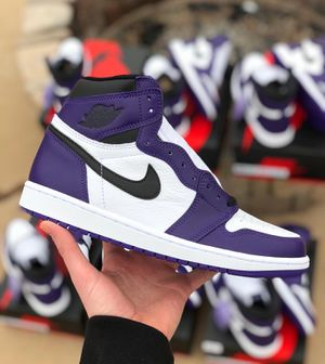 Nike Air Jordan Retro 1 Court Purple for Sale in Galloway, OH