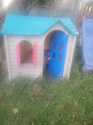 Kids outdoor playhouse for Sale in Bristol, CT