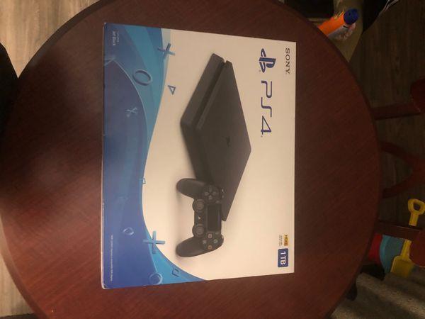 New PS4 Slim
