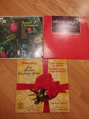 3 Christmas Vinyl Albums for Sale in Sammamish, WA