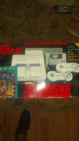 Original SNES (COMPLETE IN BOX) for Sale in North Providence, RI