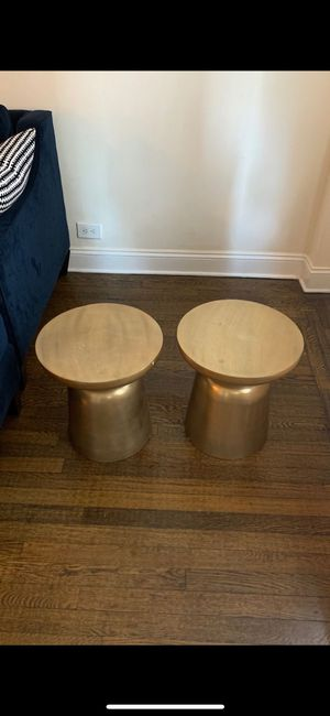 West Elm Side Tables for Sale in Brooklyn, NY