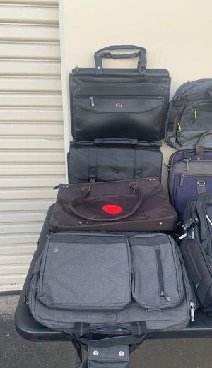 Various solo laptop backpacks/bags. for Sale in Santa Fe Springs, CA