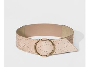 NEW Women's Studded Belt - Universal Thread beige for Sale in Miami Beach, FL