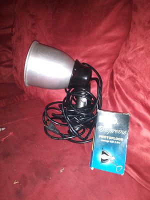 Heat lamp with extra lightbulb for Sale in Wichita, KS