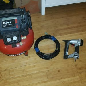 Porter Cable Air Compressor for Sale in Staten Island, NY