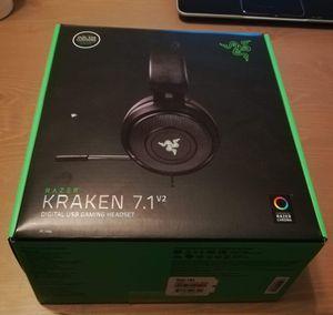 Kraken 7.1 v2 gaming headset for Sale in Austin, TX