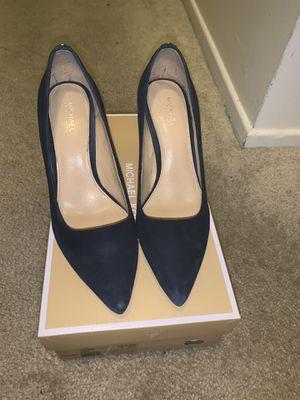 MICHAEL Michael Kors Dorothy Flex Suede Pumps Dark Blue Women 6.5 for Sale in West Los Angeles, CA