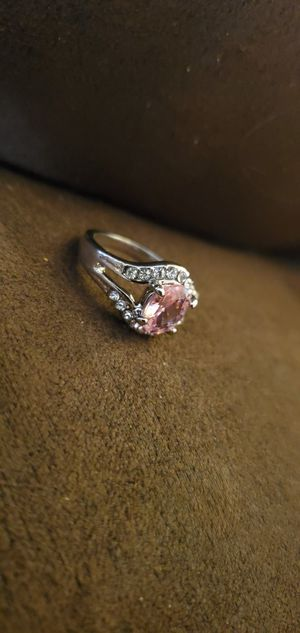 SIZE 5 ring FAKE but very sparkly and clean for Sale in Staunton, VA