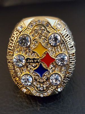 2008 Pittsburgh Steelers Championship Ring size 11 for Sale in Akron, OH