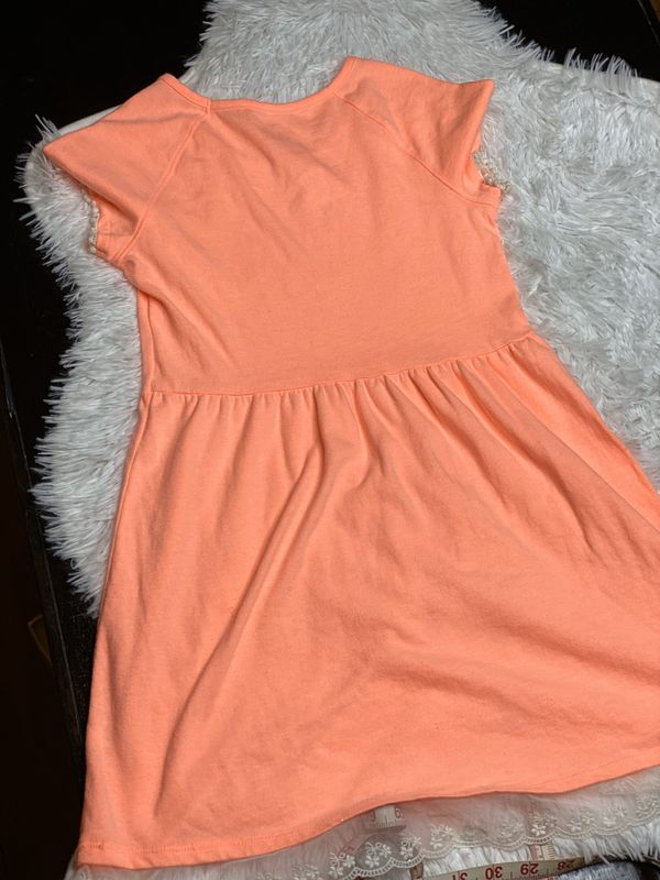 Girl soft fluorescen-neon dress size 7-8 (SHIPPING ONLY ✈️📬📦 NO LOCAL PICK UPS)