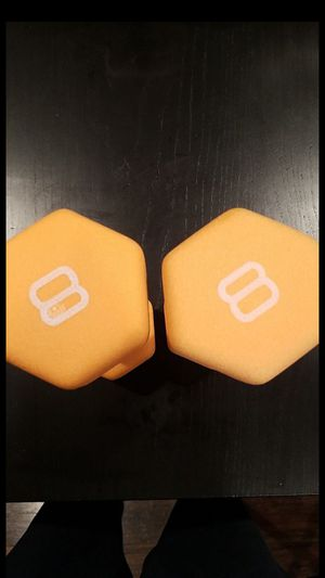CAP 8lb dumbbells pairs Brand new for Sale in Oakland, CA