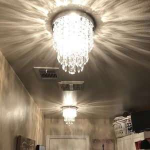 BRAND NEW MINI Chandelier Glass Crystal Pendant Ball Flush Ceiling Light Fixture Bedroom Home Decor for Sale in San Marcos, CA