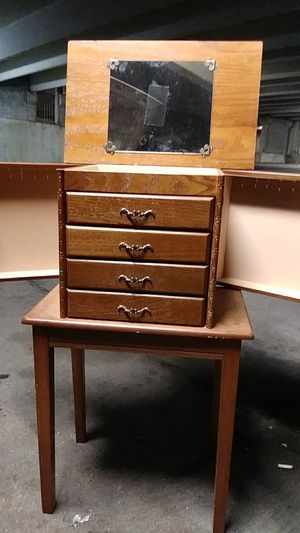 Antique womens jewelry chest for Sale in Austin, TX