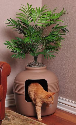 New plant hidden dome litterbox for Sale in Seattle, WA