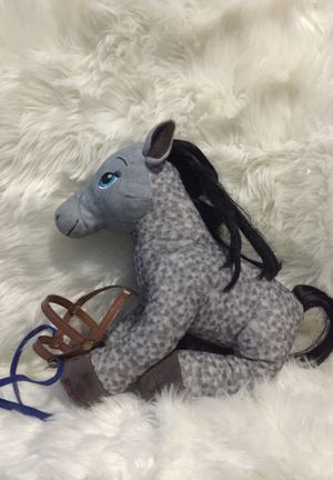 Build-A-Bear Grey Horse Stuffed Animal (with bridle) for Sale in Kaysville, UT