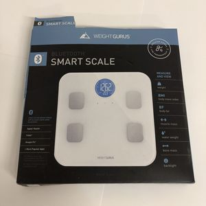 Smart scale by Weight Gurus bathroom scale for Sale in Oceanside, CA