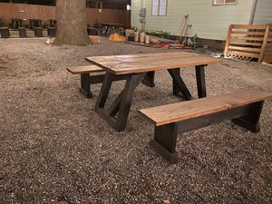 Custom design picnic table sets for Sale in Lawrenceville, GA