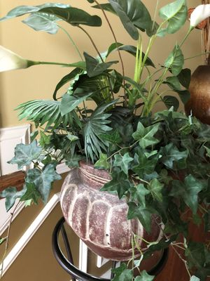 Artificial plant in it's pot for Sale in Haymarket, VA