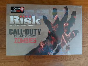 Risk Board Game - Call of Duty Black Ops Zombies Edition for Sale in Chesapeake, VA