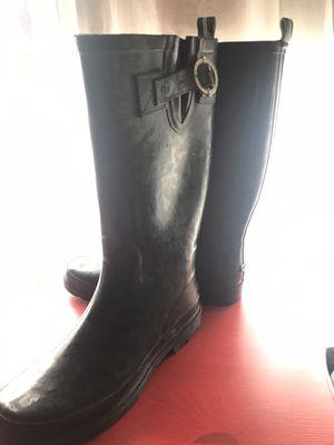 Nautica Brand Rain Boots Sz 9 [Dark Navy Blue] for Sale in Frederick, MD