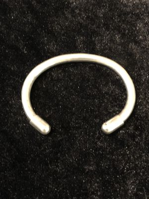 A vintage solid silver bracelet. Weighs 30 grams for Sale in Vacaville, CA