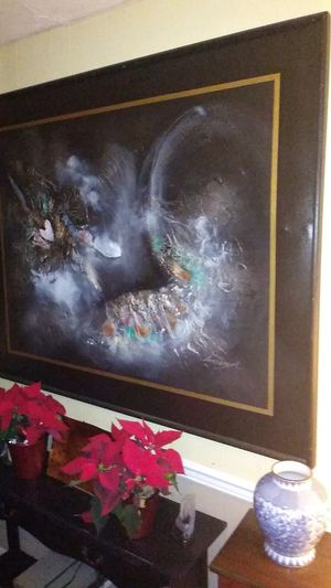 Real cool large art came out of a casino in Vegas it is like 6 by 7 ft really really cool for Sale in Seattle, WA