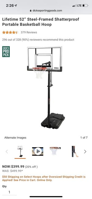 Basketball hoop for Sale in Boynton Beach, FL