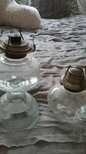Antique vintage hurricane lamps for Sale in Grove City, OH